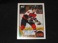 Philadelphia Flyers Brad McCrimmon Signed 1987/88 Topps Autograph Card #85  H14