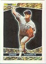 Greg Maddux Chicago Cubs Original Single Baseball Cards