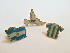 Argentina Collector Pin Set of 3 World Cup -NEW- #812C