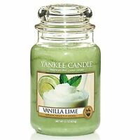 Yankee Candle Vanilla Lime - 22oz Large Jar