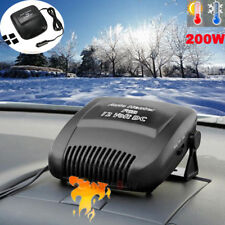 200W Car Ceramic Heating Cooling Heater Fan Defroster Demister Portable 2in1 usa