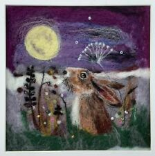 Star Gazer Hare Felted Picture Kit
