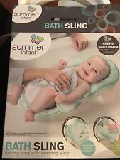 Summer Infant Bath Sling Pre-Owned Euc