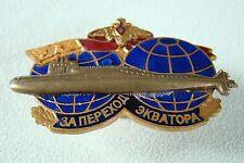 Russisches Abzeichen - U-Boot - Für die Durchquerung des Äquators