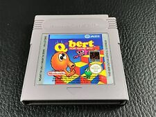 NINTENDO GAMEBOY Q BERT  VERSION FAH GAME BOY