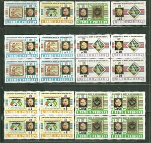 SAINT THOMAS AND PRINCE 573-76 MNH ROWLAND HILL X 5 SETS WHOLESALE SCV 44.00