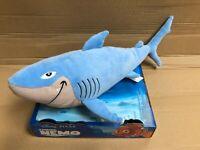 "OFFICIAL DISNEY BRUCE SHARK FINDING DORY NEMO SOFT TOY 10""-  25 CM RRP £20 PLUSH"