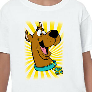Scooby Doo Kids T-Shirt Printed Children's Gift Birthday Present Boys Top Tee V1