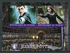 Chad 2018 CTO Harry Potter Hermione Granger 2v M/S Movies Film Stamps