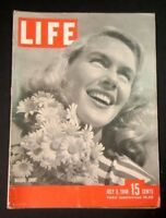 LIFE Magazine July 8, 1946 SUPERPLANES - HUNGARY - CIRCUS - DDT - ETHEL MERMAN -