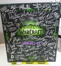 SIGNED LE World of Warcraft: Legion - Collector's Edition + signed Artbook