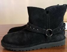UGG AILIYAH 1019943 BLACK WOMAN'S BOOTS SZ 9 100% AUTHENTIC*NEW*FAST SHIPPING