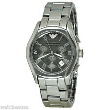 Emporio Armani Men's Silver Ceramic Chronograph Watch AR1465