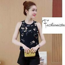 Fashionista | Bo Young Women's Floral Tank Top