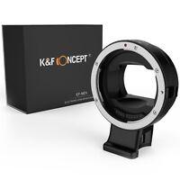 K&F Concept Auto Focus Adapter Canon EF EF-S Lens to Sony E Mount camera NEX a72