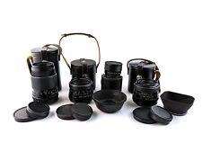 M42 Premium SET Carl Zeiss prime lens set Flektogon Sonnar Pancolar