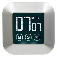 Hakkin Magnetic Digital Countdown Kitchen Timer Cooking Timer Loud Alarm LED LCD