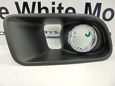 12-14 Dodge Charger New Front Fog Lamp Bezel Right Side Black & Chrome Mopar Oem