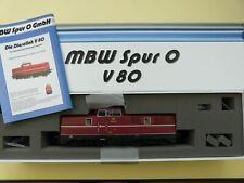 MWB 43010 Spur 0 Diesellok V 80 010 DB Epoche III - Lok V80 fast neu mit OVP !