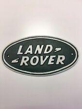 Land Rover Logo Car collector sign cast in iron Landrover sign