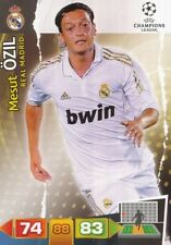 MESUT OZIL GERMANY REAL MADRID CARD ADRENALYN CHAMPIONS LEAGUE 2012 PANINI