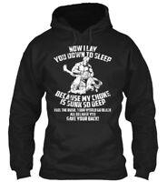 Jiu Jitsu Bjj Martial Arts - Now I Lay You Down To Gildan Hoodie Sweatshirt