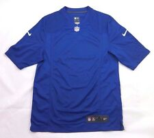 New Men's Nike NFL On Field Blue Custom V-Neck Football Jersey Shirt S MSRP $70!