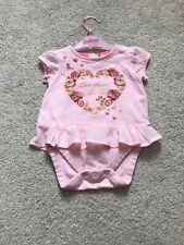 Baby Girl Ted Baker Rare Summer Poppy Top Dress Bodysuit. 0-3 Months 🎀