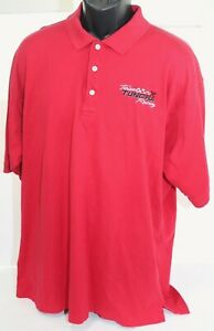 Toyota Team Tundra Racing Red Polo Shirt HSR / Harvard Square Reserve Mens XL