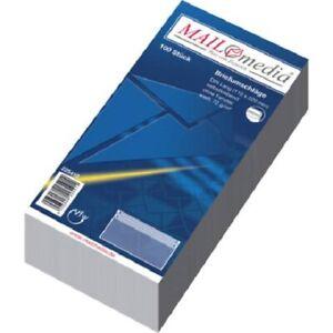 Briefumschläge DIN Lang, versch. Mengen, ohne Fenster, selbstklebend,220x110mm