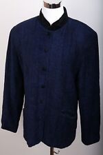 Talbots Asian Style Button Up Coat Women's Size 14