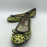 Jimmy Choo Yellow Printed Ballet Flat 6.5