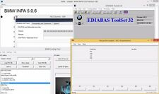 BMW Coding Diagnostics INPA EDIABAS NCS WinKFP Coding Tools + Coding Guide - New