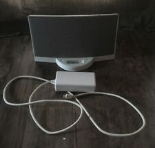 White Bose SoundDock Series 1 Classic Table Top 30 Pin Ipod Iphone Speaker Dock