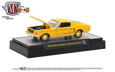 1:64 M2 Machines Detroit Muscle R42 = Orange 1968 Ford Mustang Fastback NIB!