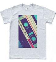 Retro Cassette T-shirt Pop Illustration Vintage Mix Tape Hipster Music Tee