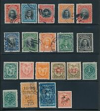 Ecuador EARLY ISSUES (1872-1928) AS SHOWN; MH & USED; CV $95