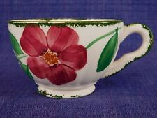 Blue Ridge Flower Ring CUP Red & Yellow have 100s more Southern Pottery items