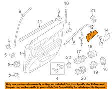 Lincoln FORD OEM 10-12 MKZ Front Door-Handle Bezel Left 9H6Z5422621BA
