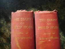 Diary Philip Hone 1828-1851 NY Tuckerman Vol 1&2 400 pg indexed genealogy Period