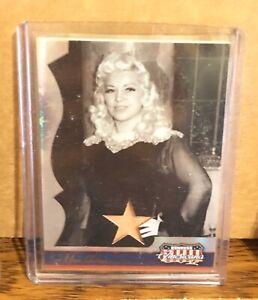 Mae West 2008 Donruss Americana Authentic Personally Worn Memorabilia #316/400