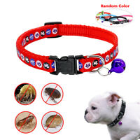 Nylon Flea&Tick Dog Collars Mosquito Repeller Protection for S/M Dogs Pet Puppy
