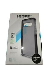 BodyGuardz Ace Pro Case for Samsung Galaxy S10, Impact Protection - Black
