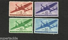 1941 United States SCOTT #C27-30 Air Mail stamps  MH