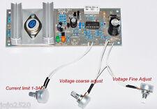 Regulator Power Supply Module AC-DC 0-30VDC Current Limit 1-3A LM723 Circuit