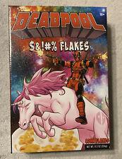 Deadpool $&!#% Flakes Cereal Corn Flakes Marvel NIB Real Corn Flakes Unicorn