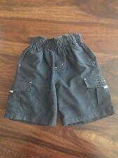 Nordstrom TODDLER Boy Rip Curl BLACK Cargo Shorts SIZE 3