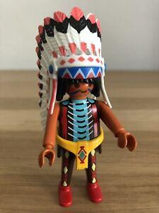 Playmobil Indianerhäuptling   A