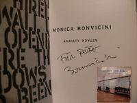Monica Bonvicini Signiert Katalog Buch Original Unterschrift Signatur Autogramm