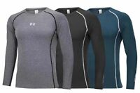 Under Armour Men's HeatGear UA Locker 2.0 Long Sleeve T-Shirt New MEDIUM 8152#